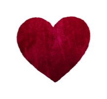 Icon - Adaptations - red watercolor heart