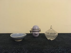 Photograph of salt and water containers: described in surrounding text