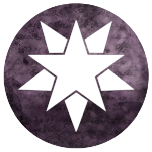 Adapting icon: stars on a purple background