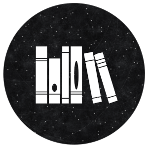 Resources icon: books on a black background