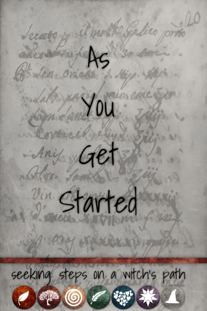 Title card: As You Get Started