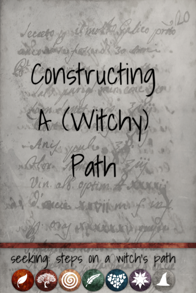 Title card: Constructing a (witchy) path