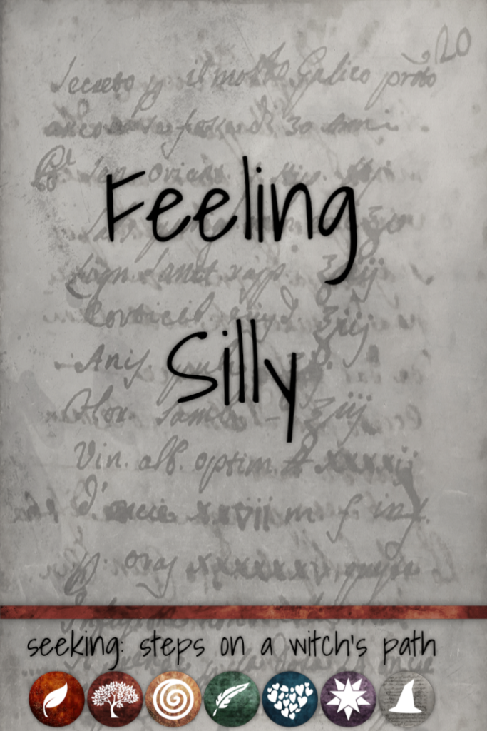 Title card: Feeling silly