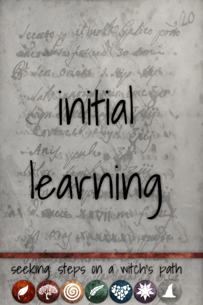 Title card: Initial Learning