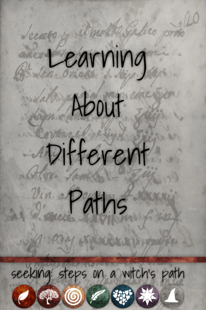 Title card: Learning about different paths.