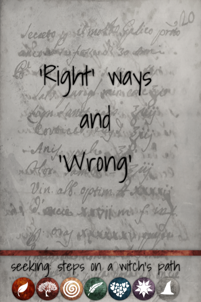 Title card: Right ways and wrong.