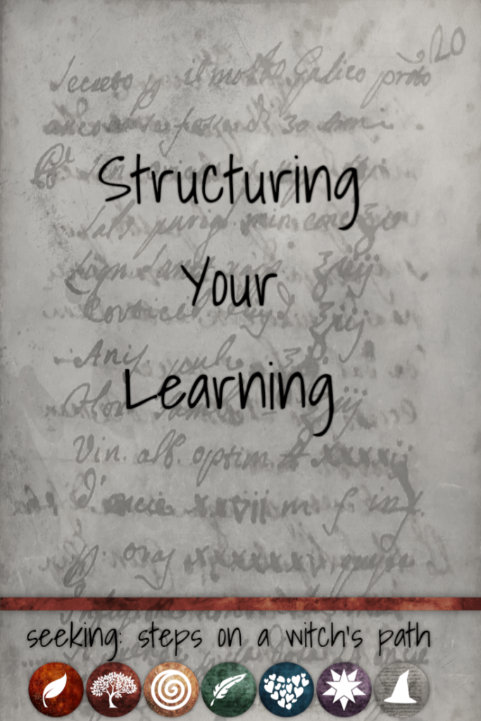Title card: Structuring your learning