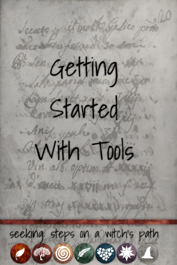 Title card: Getting Started With Tools.