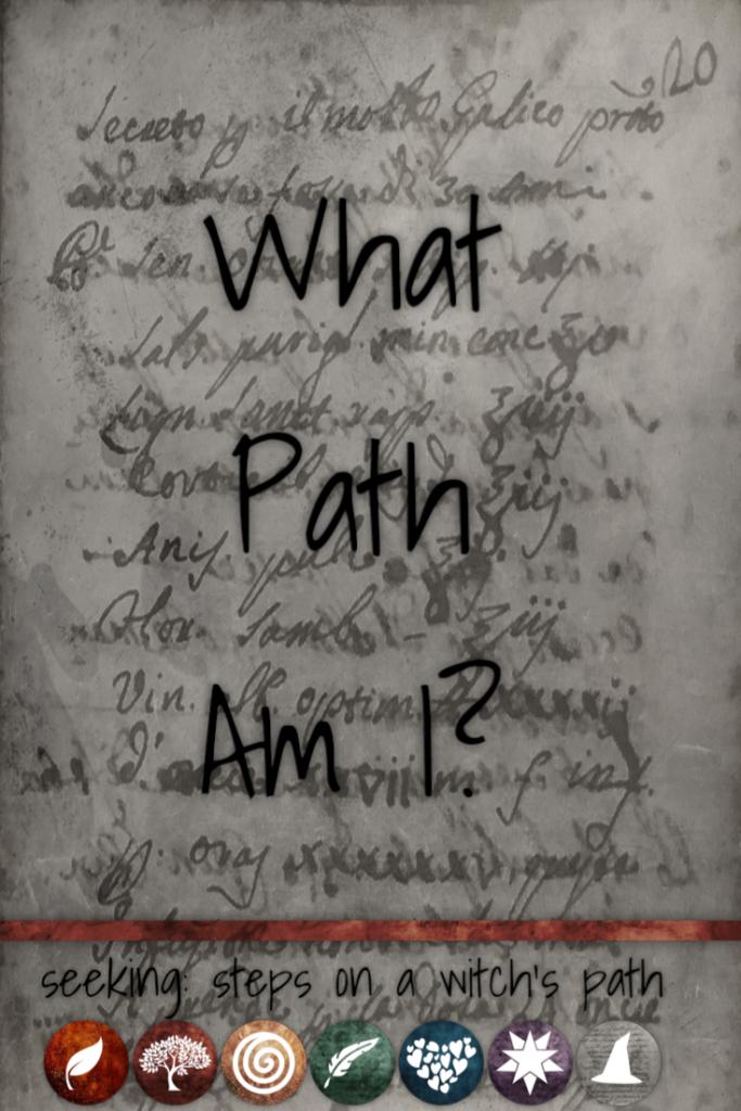 Title card: What path am I?