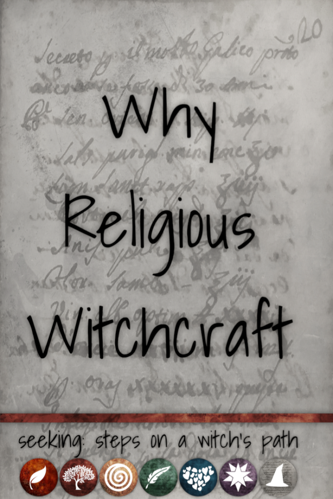 Title card: Why religious witchcraft?