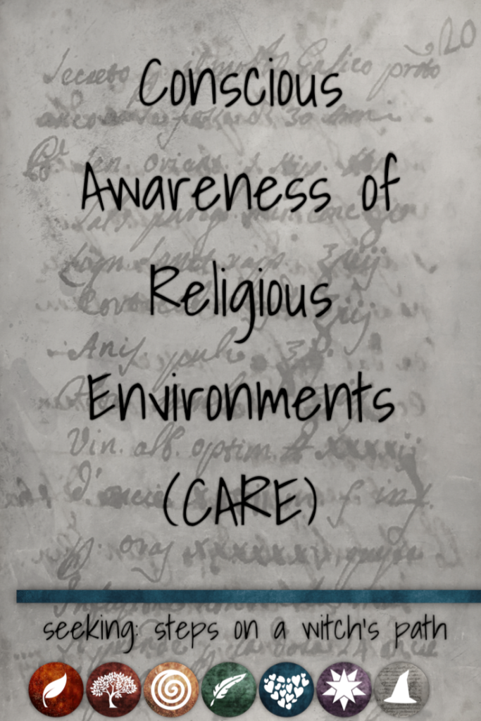 Title card: Conscious Awareness of Religious Environments (CARE)