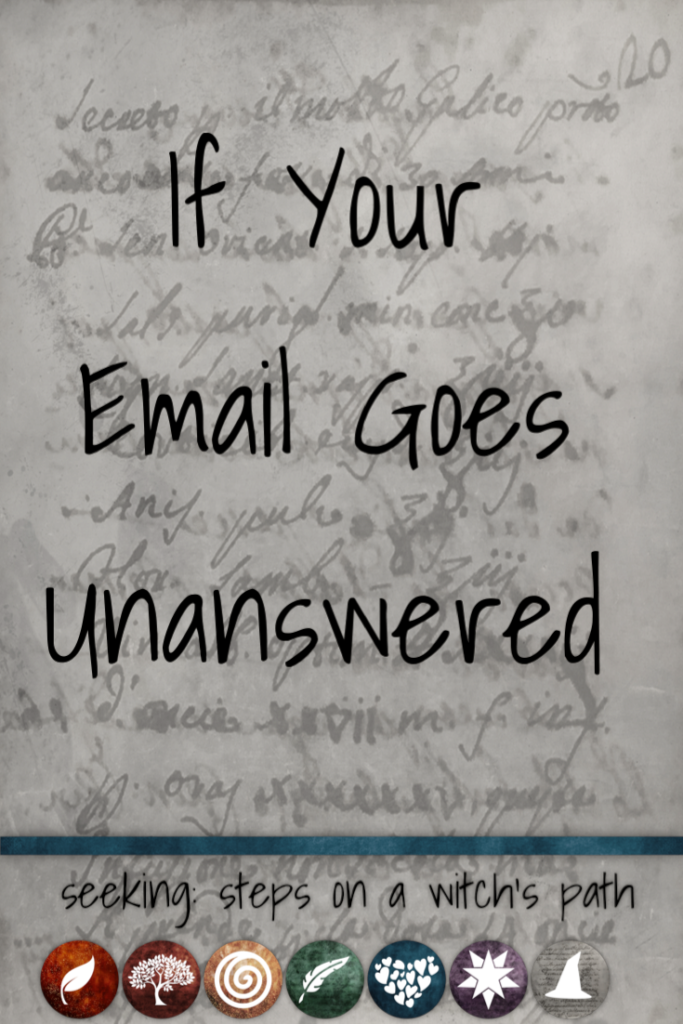 Title card: If your email goes unanswered.