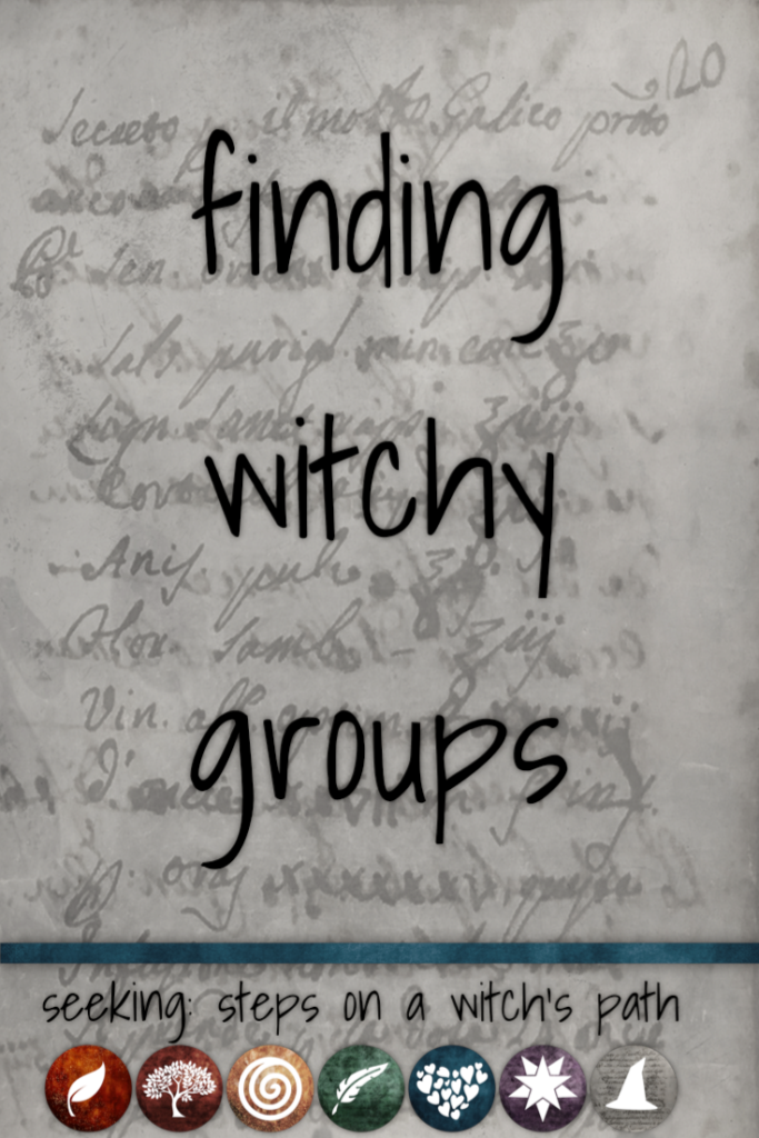 Title card: finding witchy groups