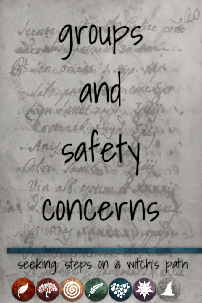 Title card: Groups and safety concerns