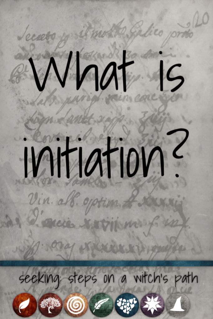 Title card: What is initiation?