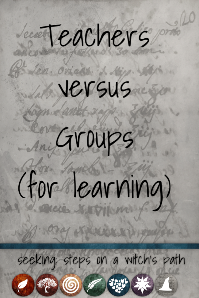 Title card: Teachers versus groups (for learning)