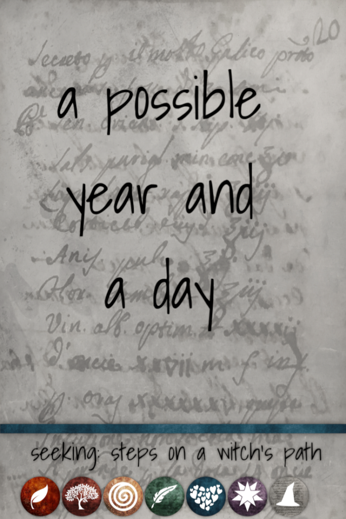 Title card: A possible year and a day
