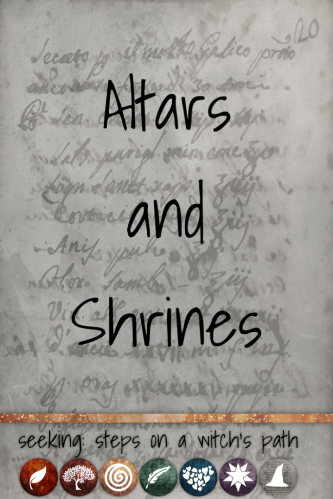 Time card: Altars and shrines