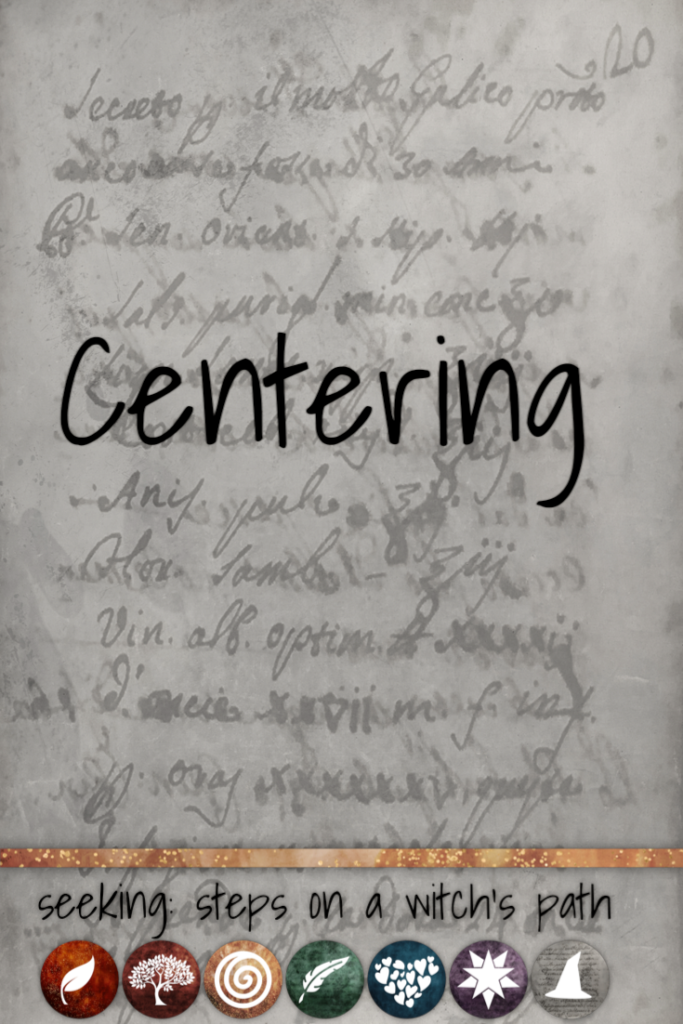 Title card: Centering