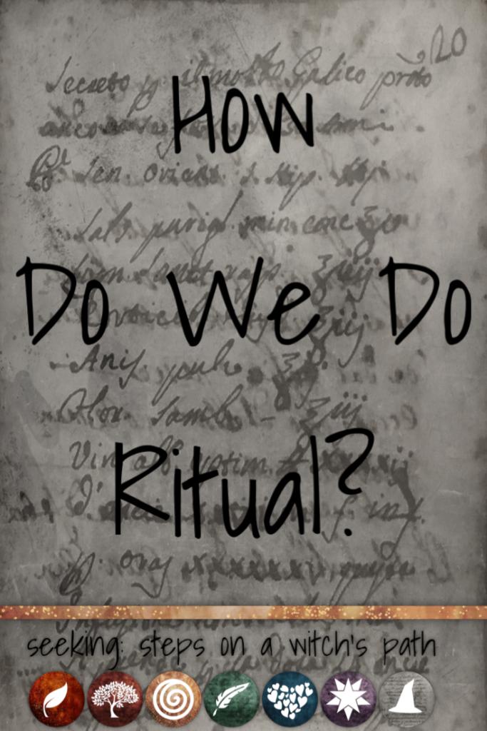 Title card: How do we do ritual?