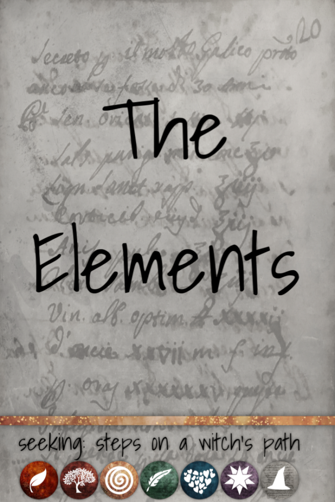 Title card: The elements