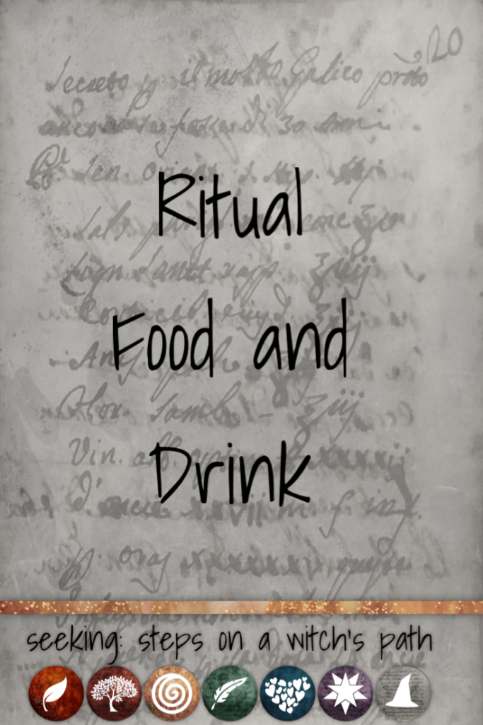 Title card: Ritual food and drink
