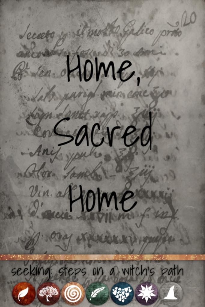Title card: Home, Sacred Home