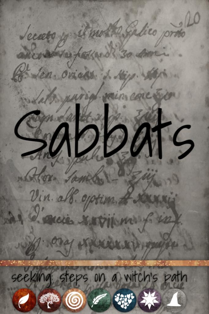Title card: Sabbats