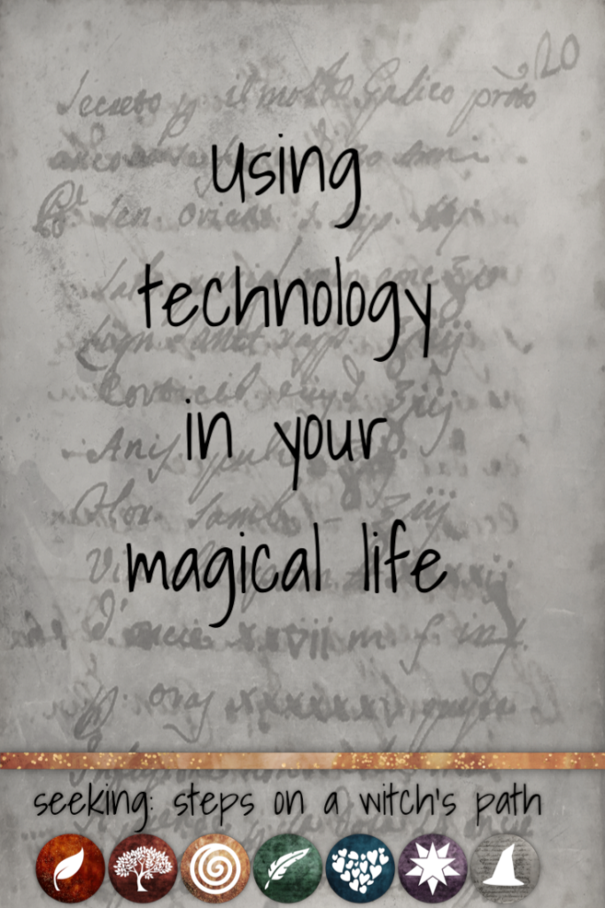 Title card: Using technology in your magical life.