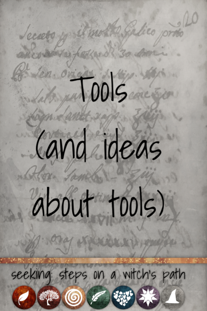 Title card: Tools and ideas for tools.