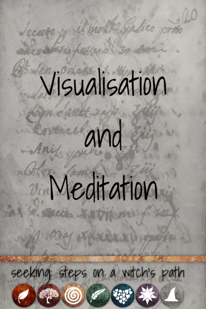 Title card: Visualisation and meditation