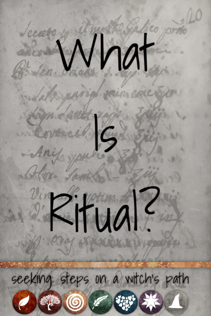 Title card: What is ritual?