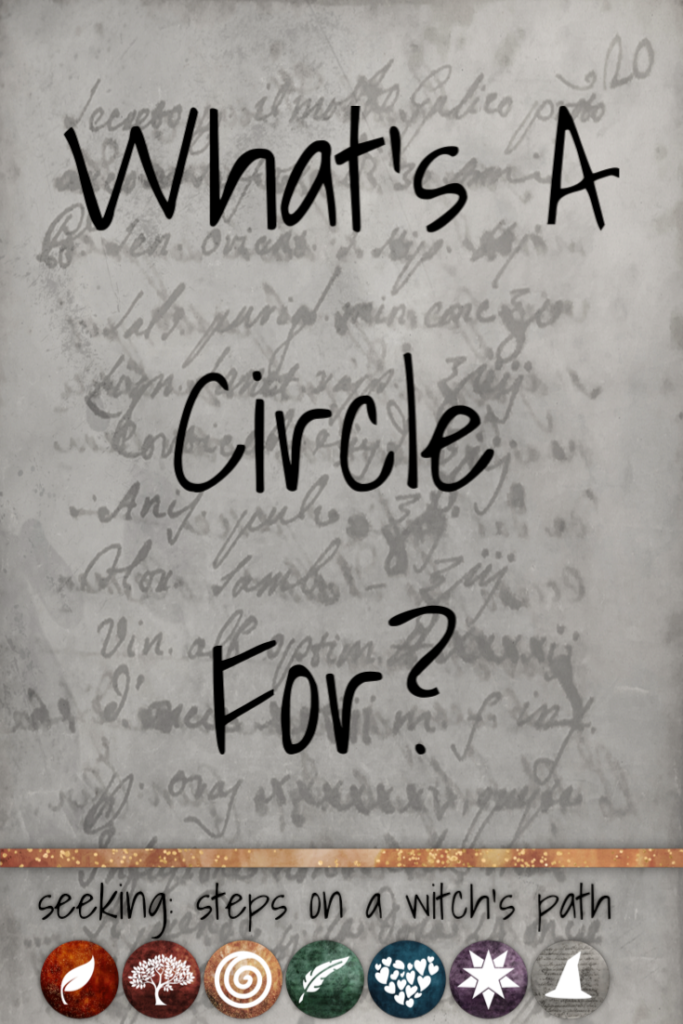 Title card: What's a circle for?