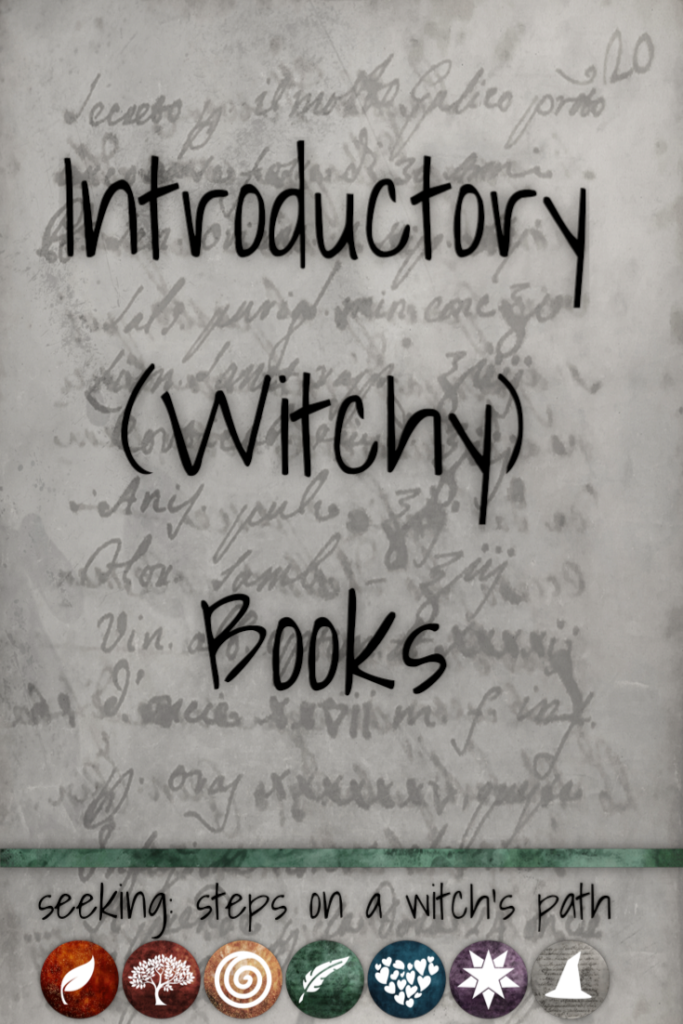 Title card: Introductory (witchy) books