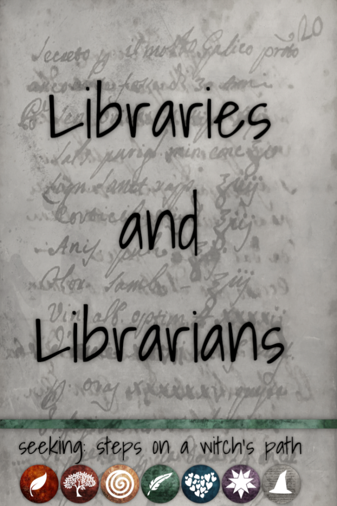 Title card: Libraries and librarians
