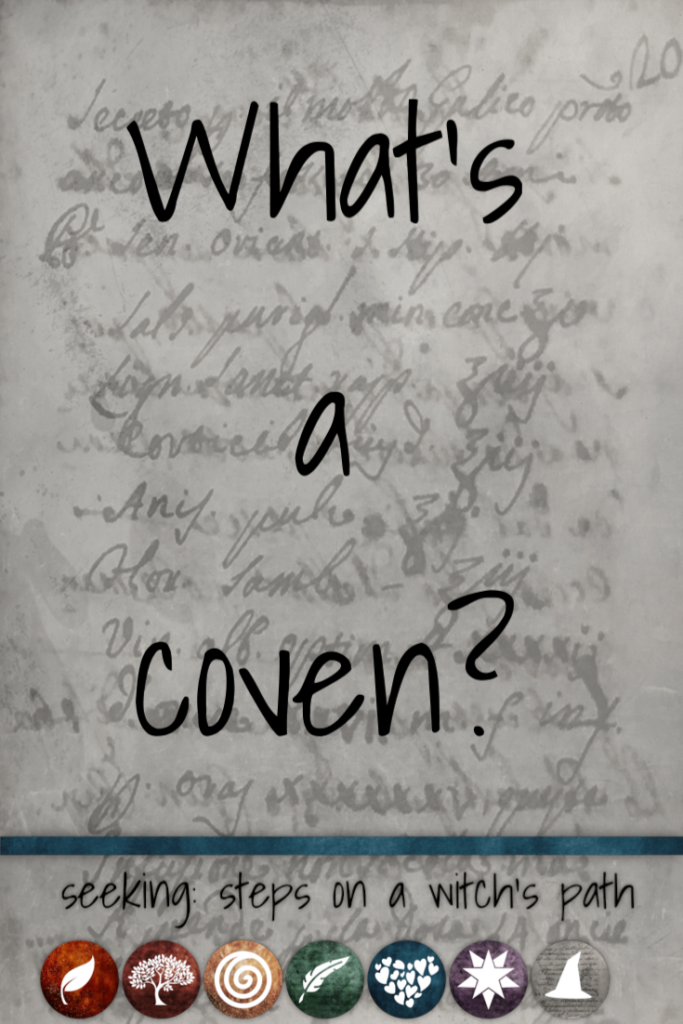Title card: What's a coven?